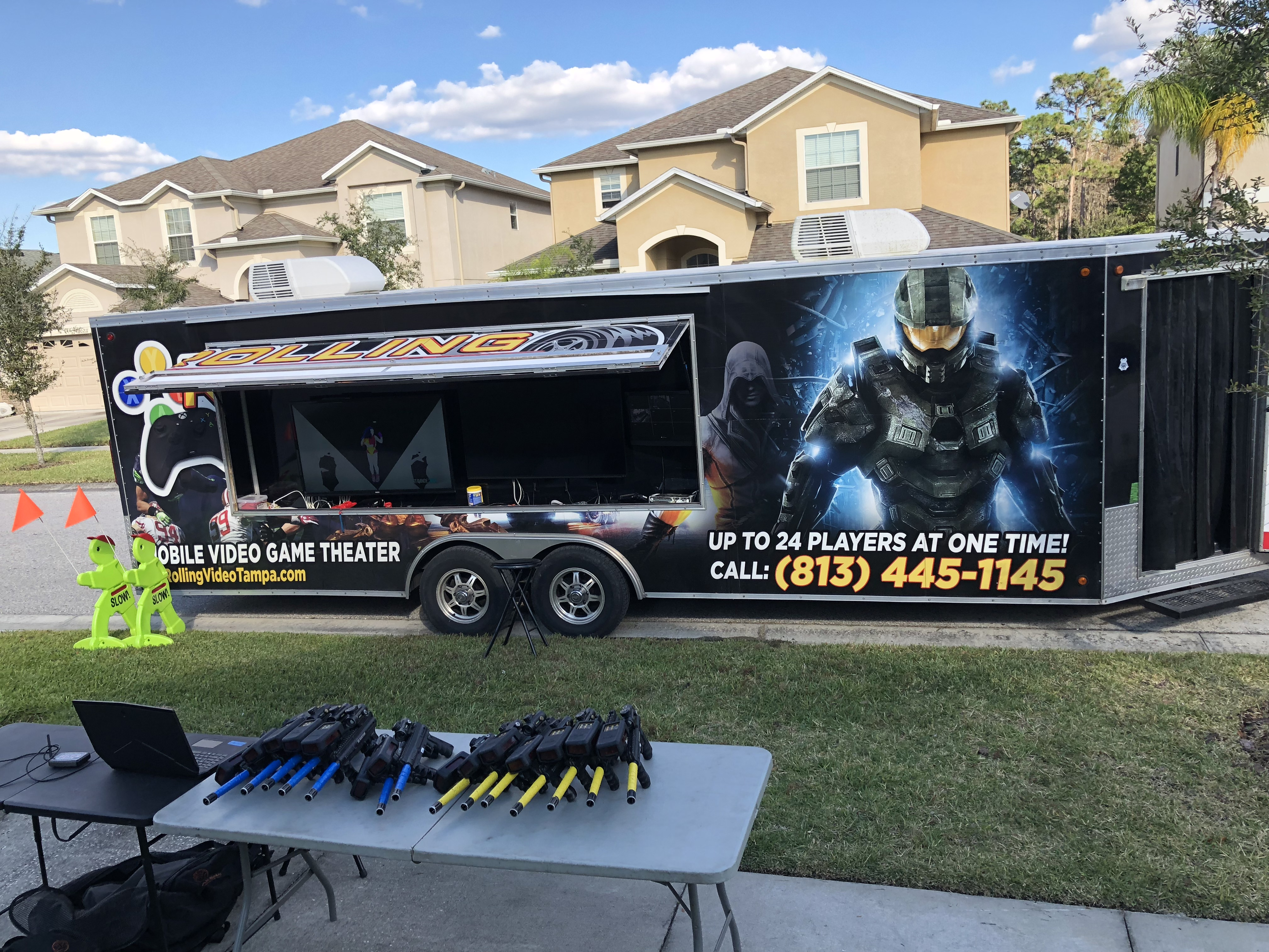 Throw A Mobile Video Game Party And Add On Laser Tag